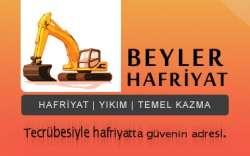 Beyler Hafriyat Yıkım Beyler Hafriyat Yıkım, Temel Kazma, İstanbul