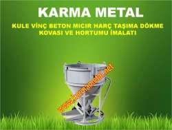 KARMA METAL-Kule Vinç Beton Kovası imalatı KARMA METAL-Kule Vinç Beton Kovası imalatı