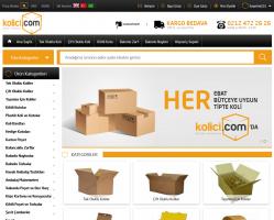 Kolici Oluklu Mukavva koli, Kutu ve Ambalaj Malzemelerinin Online Satışı