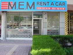 MEM rent a car araç oto araba kiralama Konya MEM;Konyada rent a car araç oto araba kiralama