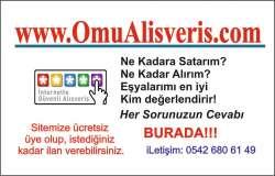 OmuAlisveris Alışveriş Sitesi Online Seri ilan Ekle